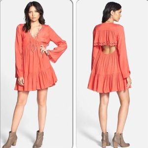 Free People | NWT Open Back Dress